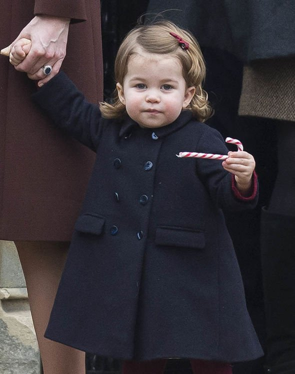 Royal children Princess Charlotte is said to look like the Queen at her age Image Getty