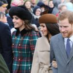 Royal family Christmas Last years celebration in Sandringham Image Getty