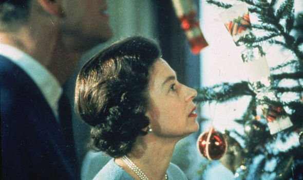 Royal family Christmas The Queen in 1969 Image Getty