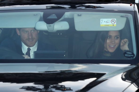 Royal news Prince Louis DID attend the Queens Christmas lunch but you couldnt see him Image GETTY