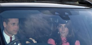 Royal news The entire Cambridge family attended lunch at the Queens London residence Image GETTY