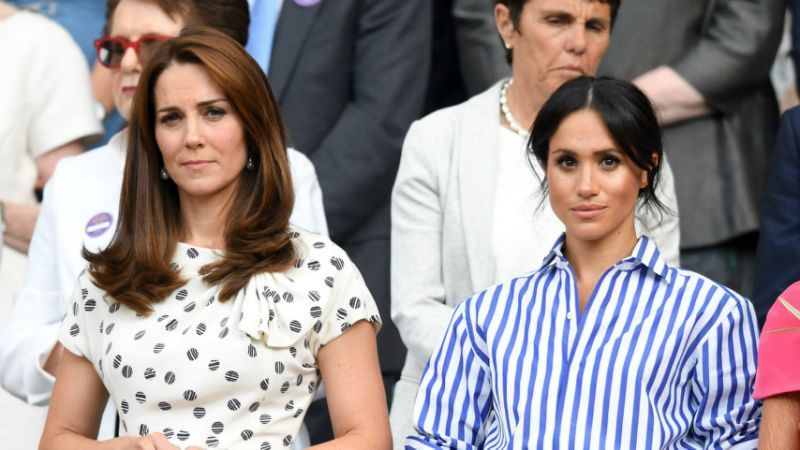 Rumours of a rift between Kate and Meghan have been rife sparking conversation among many including Piers Morgan Source Getty