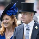 """Sarah Ferguson – pictured here with her ex husband in 2015 – has admitted she is now living a """"fairytale"""" with Prince Andrew 22 years after their divorce Source Getty"""