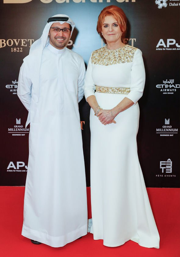 Sarah Ferguson Fergie Duchess of York slammed for wearing this in Dubai Image GETTY