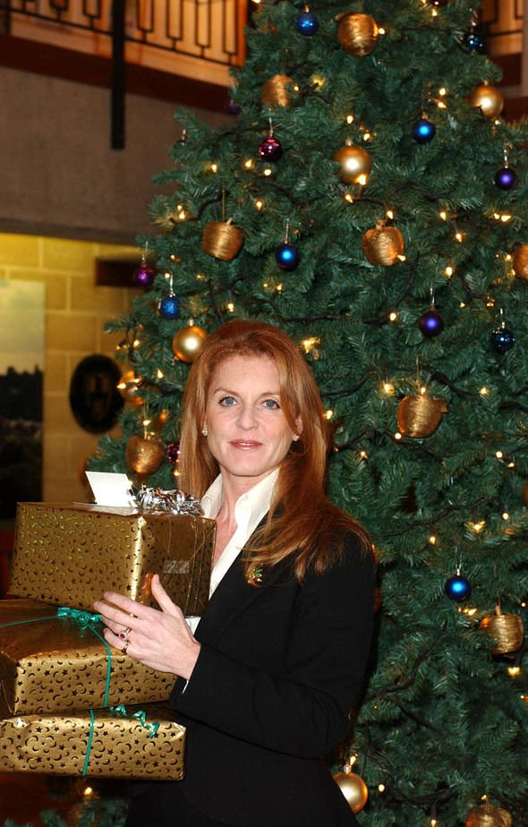 Sarah Ferguson claimed she changed her outfit seven times between Christmas Eve and Christmas Day Image GETTY