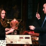 She may be a Duchess but during a tour of the Harry Potter studios in London Kate also doubled as a budding wizard Photo C GETTY