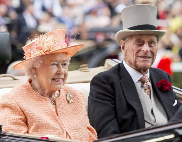 TRADITION The Queen and Prince Philip usually spend New Years Eve in Sandringham Pic Getty