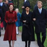The Cambridges and Sussexes joined the Queen at Sandringham to celebrate Christmas Image GETTY