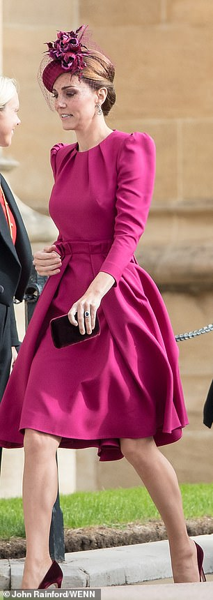 The Duchess of Cambridge pictured in Alexander McQueen at Princess Eugenies wedding in October has increasingly been embracing colour co ordination of late