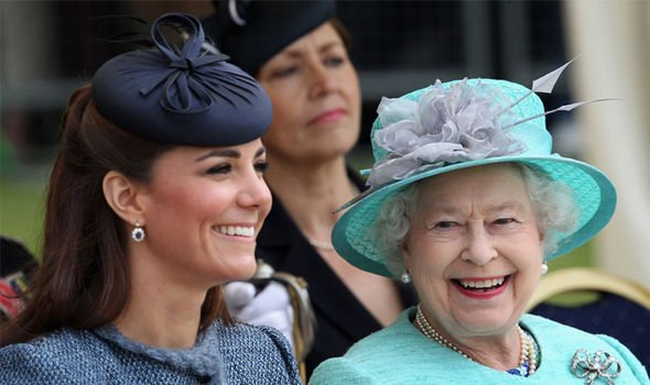 The Queen once remarked Kate doesn't do very much Image GETTY