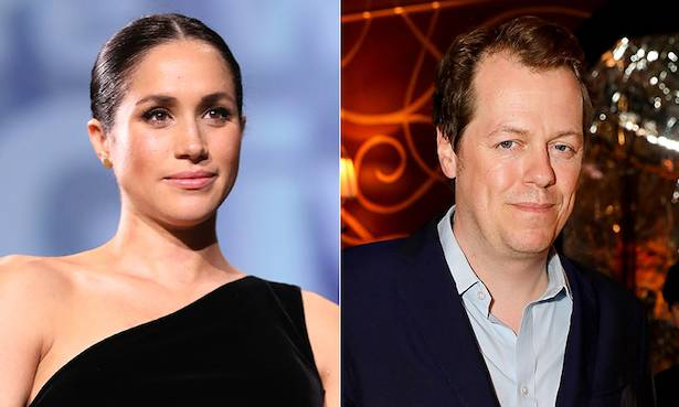 The Duchess of Cornwalls son throws support behind Meghan Markle Photo C GETTY