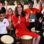 The Duchess showed off her music skills while visiting the Anna Freud Centre Family School A patron for the centre Kate often goes on engagements Photo C GETTY