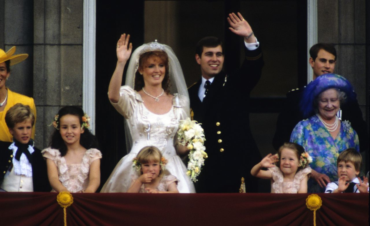 The Duck and Duchess of York married in a lavish Westminster Abbey wedding in 1986 Photo Getty Images