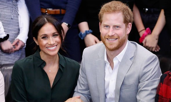 The Duke and Duchess of Sussex Image GETTY