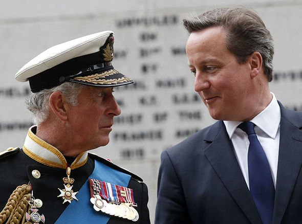 The Prince likes David Cameron's views on compassionate Conservatism Image Getty