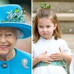 The Queen accidentally revealed a sweet picture of her grandchildren including George and Charlotte Image GETTY