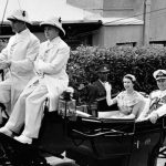 The Queen and Prince Philip in Bermuda in 1953 Image Getty