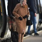 The Queen arriving at Kings Lynn Image GETTY
