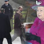 The Queen attended a Sunday service at St Mary Magdalene Image Joe Giddens PA