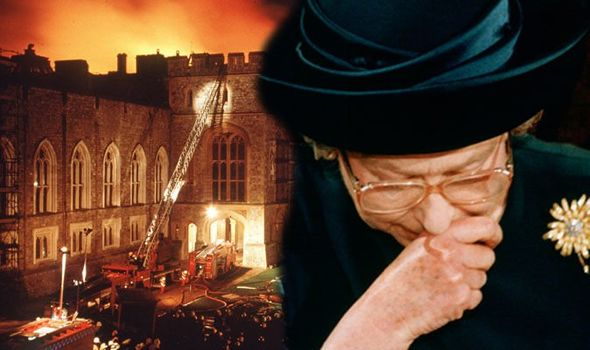 The Queen had to rehabilitate the monarchy after her annus horribilis Image Getty