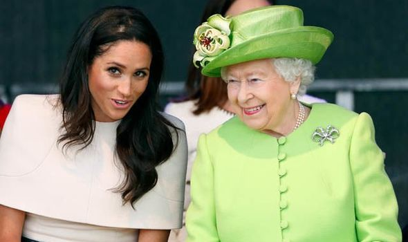 The Queen is reportedly prepared to give Meghan advice Image GETTY