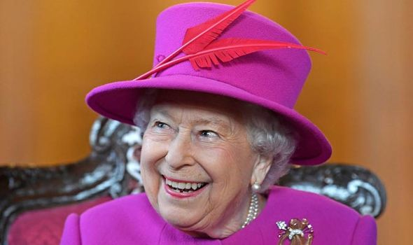 The Queen pictured yesterday at Lincolns Inn London Image GETTY