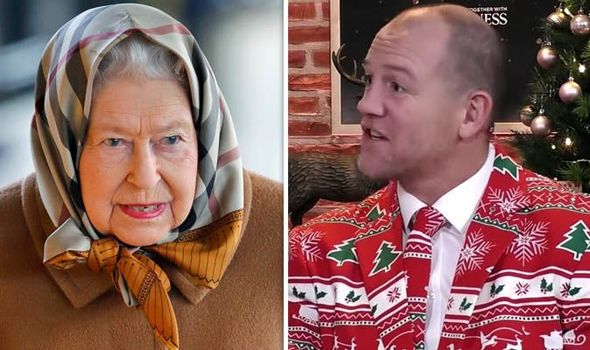 The Queen spent a private Christmas Day with Zara and Mike Tindall Image GETTY JOE