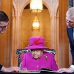 The Queen visited the Honourable Society of Lincolns Inn Image GETTY