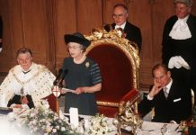 The Queens annus horribilis speech in 1992 Image Getty
