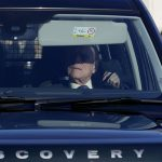 The Queens husband Prince Philip 97 made a special appearance at the lunch driving down from Windsor Photo C PA