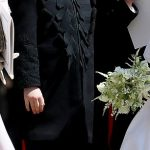 The first time he was seen publicly in long trousers was when he wore a miniature version of the Blues and Royals uniform for Prince Harry and Meghan Markles wedding in May