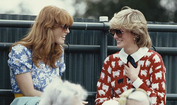 Fergie failed to rekindle her friendship with Princess Diana before she died Image Getty