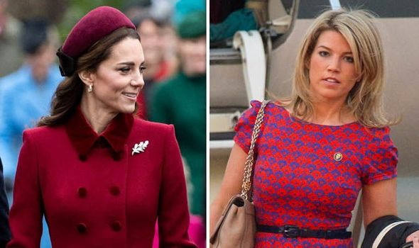 The palace denied claims Natasha Archer is leaving her role Image GETTY