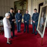 The photo was on display in Windsor Castle Photo C PA