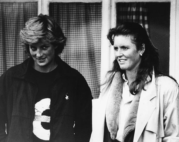 Sarah Ferguson and Princess Diana were once very close friends Image Getty