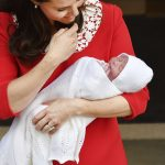 The publics first glimpse of Louis came of course on the steps of the Lindo Wing just hours after his birth on April 23