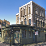 The south London pub was more than happy to let Princess Charlotte use their throne Image Google
