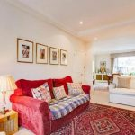 The stunning property features cream walls and traditional furniture Image RIGHT MOVE