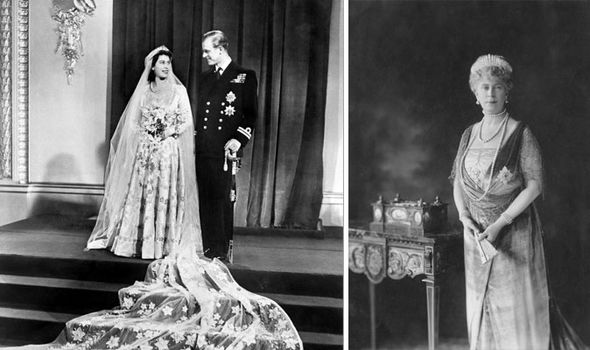 The tiara was made for Queen Mary Queen Elizabeth IIs grandmother Image Getty
