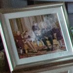 This portrait of the Queen and Prince Philip with their great grandkids has never been seen before Source Getty