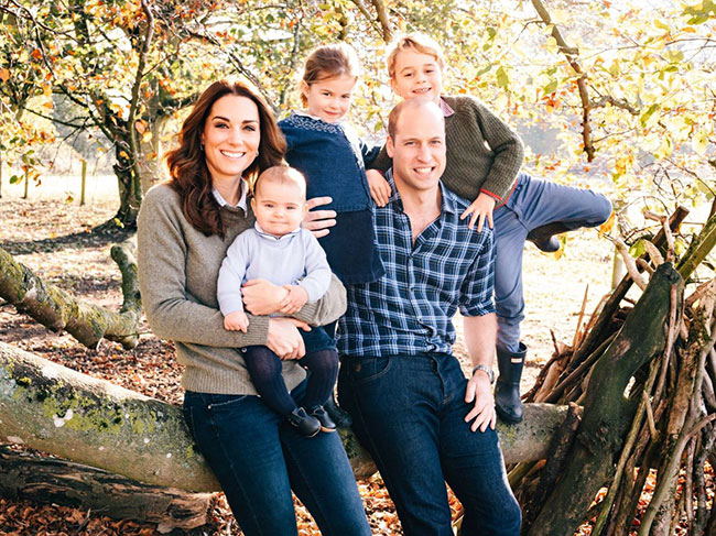 This year will be the royal familys first Christmas with Prince Louis Photo C GETTY