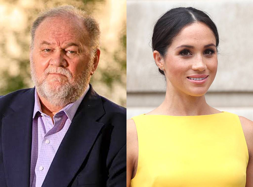 Thomas Markle Says Meghan Markle and Prince Harry Have Put Up a Wall of Silence Photo C GETTY