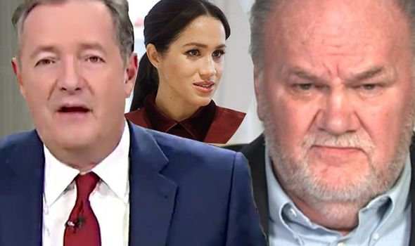 Thomas Markle revealed how he texts his daughter every day Image GMB