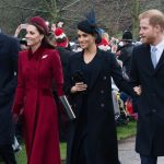 UNITED FRONT The two Royal couples were all smiles at Sandringham Pic GETTY