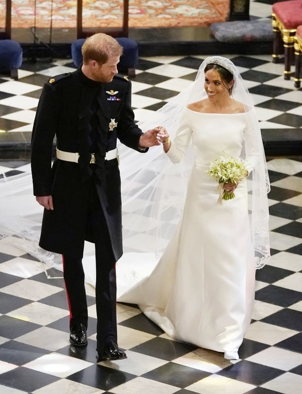 WHIRLWIND Its been a huge year for the couple who married in May Pic Getty