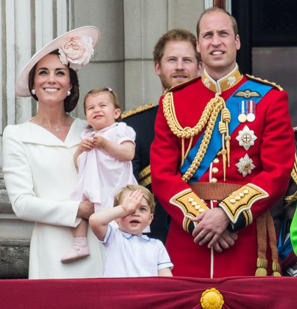 William Kate Harry George and Charlotte Image GETTY