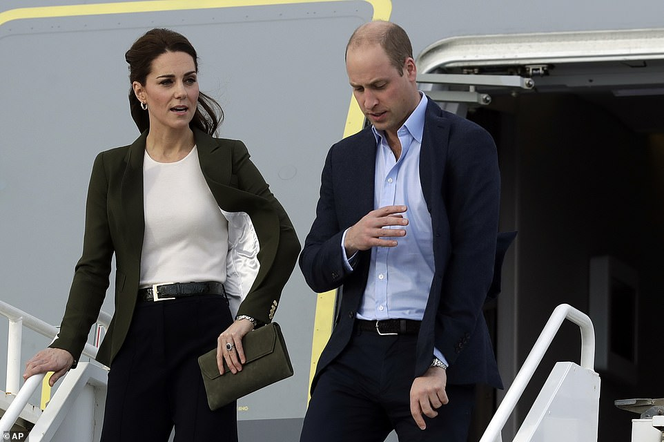Williams words of praise came as he and Kate visited Cyprus for a whirlwind tour of a military base to meet RAF personnel