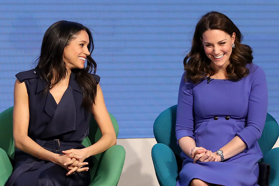 The Duchess of Sussex and the Duchess of Cambridge Photo C GETTY IMAGES 3