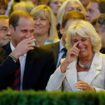 prince william camilla laughing a