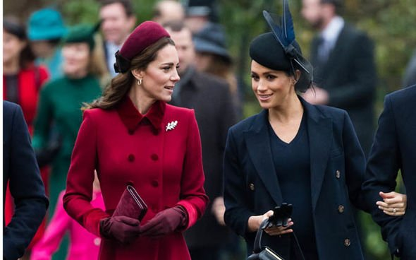 A documentary called Kate V Meghan Princesses at War details the royal relationships Image getty
